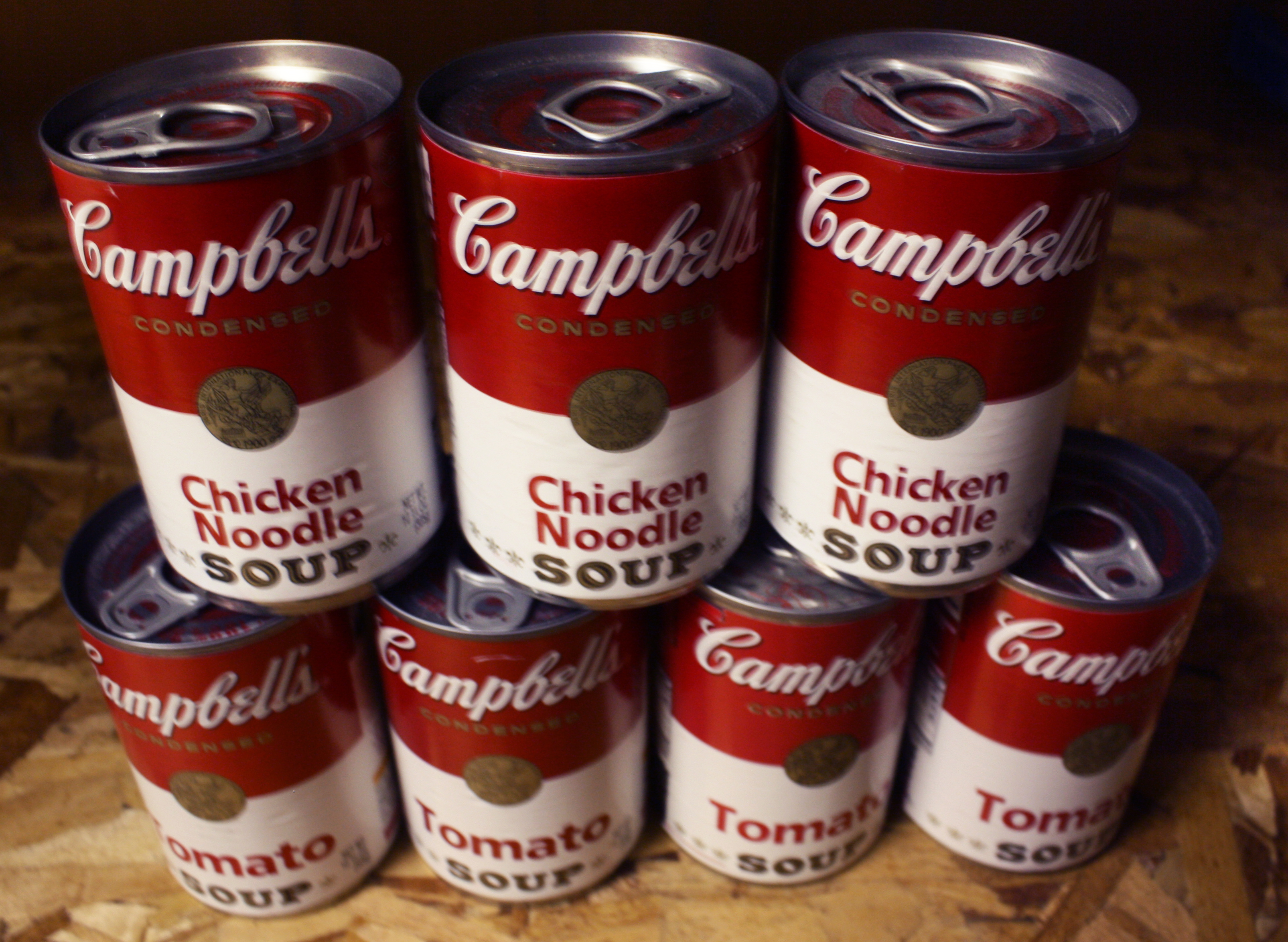 Stacked Campbells